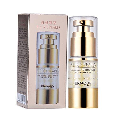 15ML Serum Yeux Hydratant Crème perle essence anti-vieillissement crème pour les yeux pour le cercle noir rides crème jour/nuit crème