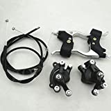 47 cc 49 cc Mini Moto Dirt Pit Bike Minimoto Pinza de freno Kit de palanca para con Cable
