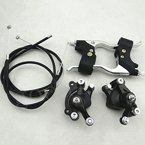 47CC 49cc mini moto Pit Dirt bike Minimoto pinza freno leve con cavo kit