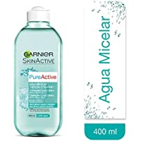 Garnier Pure Active, Agua micelar (piel normal) - 400 ml.