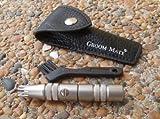 Groom Mate Platinum XL Plus Der kleinste Nasen- / Ohrhaarklipper zur Welt - und er jobbt ohne Batterien! -