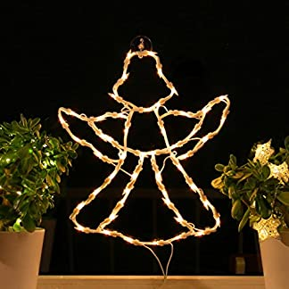 Fenster-Silhouette-Weihnachten-Weihnachtsdeko-Fensterbilder-Beleuchtet-Weihnachtsbeleuchtung-innen-Fensterdeko-zum-aufhngen
