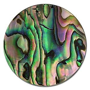 Amello Perlmutt Coins Mehrfarbig 30 mm Einleger Muschel Damen Coin D2ESC704F