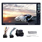 Cosy-Car MP5-Player HD 7-Zoll-260.000-Farb-Bildschirm Audio und Video MP4 RM RMVB FM-Player mit Bluetooth WiFi GPS-Navigationssystem