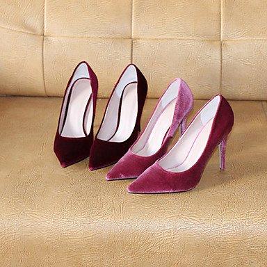 Moda Donna Sandali Sexy donna tacchi Primavera / Autunno tacchi / Punta tessuto Party & sera abito / / Casual Stiletto Heel OthersBlack / blu gray
