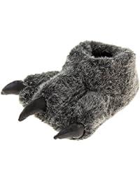DSstyles Monster Claw Inicio Zapatos Zapatillas Novedad Zapatillas Hombre para Invierno Zapatillas Indoor Mujer con Animales Paw - Rosa hR4mwSUD