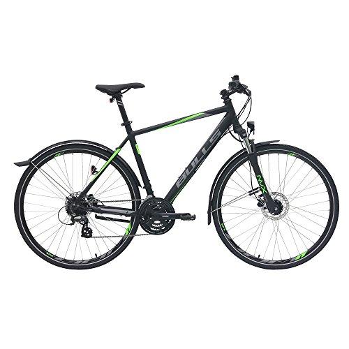 BULLS Crossbike Street Herrenfahrrad 2018 Scheibenbremsen SR Suntour Federgabel, Farbe:schwarz, Rahmenhöhe:54 cm