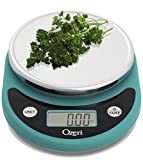 Ozeri ZK14-T Pronto Digital Multifunction Kitchen and Food Scale, Teal Blue by Ozeri