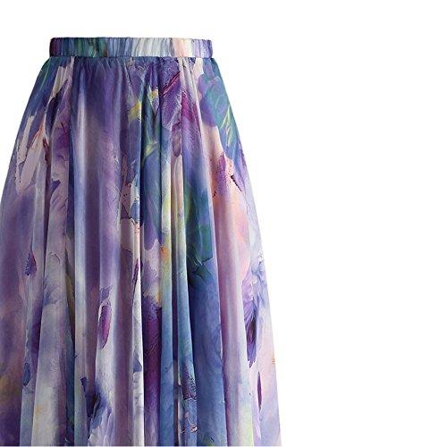 Chicwish Damen Teller Rock violett violett Violett