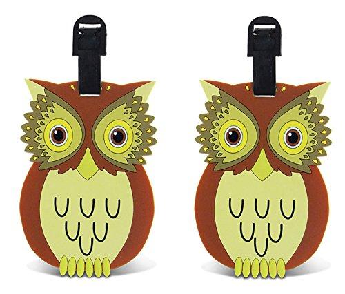 puzzled-damen-kofferanhanger-gr-one-size-brownyellowgreen