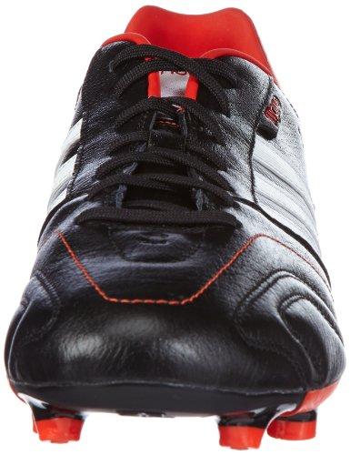 adidas 11Nova Traxion FG Q23904 Herren Fußballschuhe Schwarz (BLACK 1 / RUNNING WHITE FTW / HI-RES RED F13)