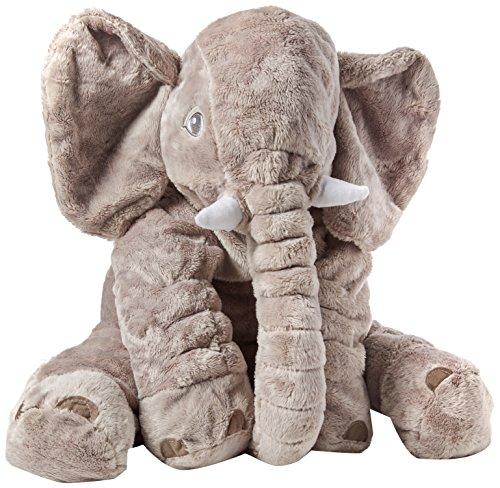 MFEIR® bebé elefante almohada de peluche de peluche almohadas largo nariz almohada...