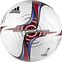 adidas Uefa Europa League Capitano Balón de Fútbol, Hombre, Blanco (Blanco / Escarl / Buruni), 5