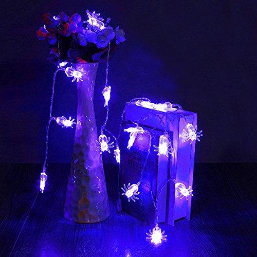 e LED Spider Licht Halloween Party Decration Lichter ()