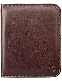 Maxwell Scott Men's Full Grain Leather Watch Case - Atella