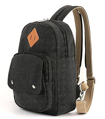 Magifire Mini Sling Rucksack Crossbody Bag Brusttasche Schulterücksack Umhängetasche Fahradfahren Urlaub