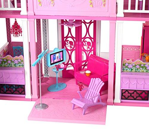 Barbie w3141 la casa di malibu for Casa barbie malibu