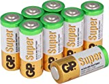 GP Super Alkaline Batterien Typ Lady/N / LR1, 1,5 Volt (1,5V), Pack mit 8 Stück GP Batteries