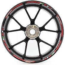 Bandas adhesivas SpecialGP Moto Aprilia Shiver 750 Rojo