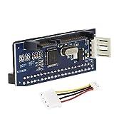 40pi weiblich IDE PATA auf 7+ 15P Festplattenkabel sATA Stecker JM20330Adapter 8,9cm sata-ide Karte