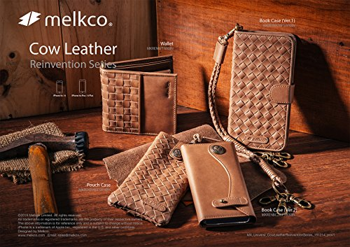 Melkco, Borsa tote donna Wallet (Brown)