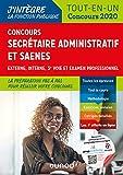 Concours Secrétaire administratif et SAENES - Tout-en-un - Concours 2020...
