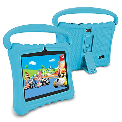 tablet per bambini Tablet da 7 Pollici 2GB+32GB Wifi Tablet Bambini 1024x600 IPS HD Android 6.0 Quad Core Gioco Educativ Bluetooth GPS OTG