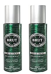 Brut Deodorant Spray for Men, 200ml (Orginal - Pack of 3)