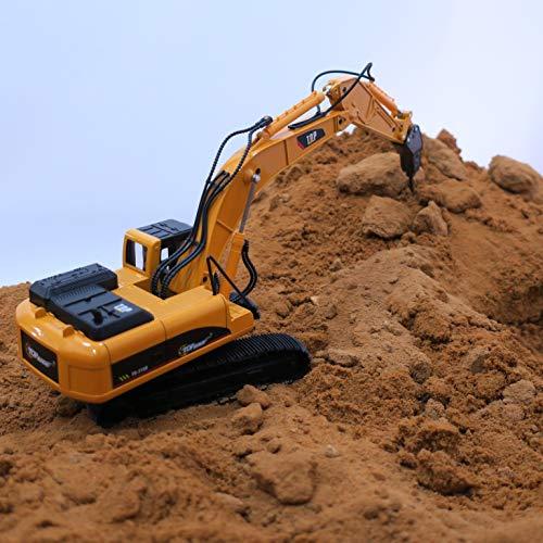 RC Auto kaufen Baufahrzeug Bild 3: Top Race Metalldruckgussbagger Drill Traktor, Bau Spielzeugschlepper - Metallbohrer (TR-218D)*
