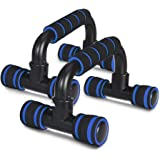ZOSOE Push Up Bars Stand with Foam Grip Handle for Chest Press, Home Gym Fitness Exercise, Strength Training, Push Up Bar, Pu