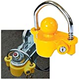 MP953 B Candado para enganche de remolque universal y llave, 50 mm