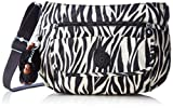 Kipling K13163 Damen Umhängetaschen 31x22x12.5 cm (B x H x T), Mehrfarbig (59Q Black Zebra B)