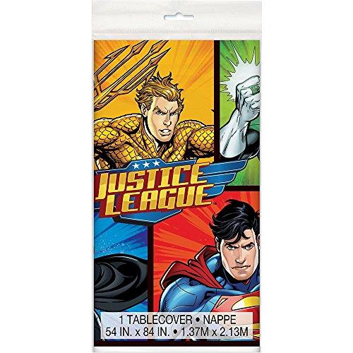 Generique - Tischdecke aus Kunststoff Justice League 137 x 213 ()