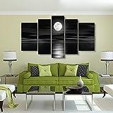 Lienzo moderno para pared (decoración, para dormitorio, arte, enmarcado, listo para colgar, para sala de...