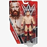 WRESTLING WWE Serie Basic 72 Action Figure - Sheamus Intrecciato con Barba & Mohawk