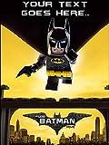 LEGO Batman A4Größe essbaren Geburtstag Foto essbaren Kuchen Topper