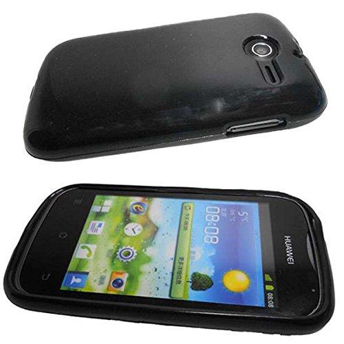 Handykondom Silikonhülle schwarz Huawei Ascend Y201 pro