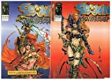 Spawn Sonderheft 1 & 2 Spawn & Angela, Nov Dez 1997, Infinity Image Comics. Comic-Heft