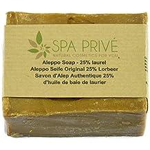 Jabón aceite de oliva con 25% de aceite de bayas de laurel 190 g Natural Fabricado en Francia