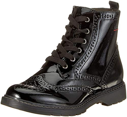 s.Oliver Damen 25465-21 Combat Boots, Schwarz (Black Patent 18), 37 EU