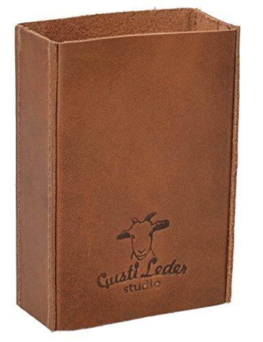 Gusti Leder studio Porte-cigarettes, marron clair (marron) - 2T15-22-5