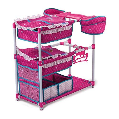 Preisvergleich Produktbild Hauck D91822 - Zwillingspuppen-Spielcenter Twin Doll Station, Birdie