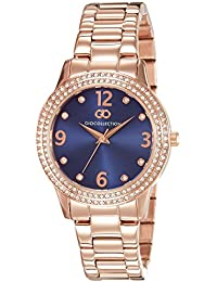 Gio Collection Analog Blue Dial Women's Watch - G2012-88