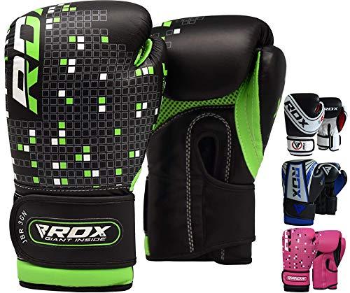 RDX Guantes Boxeo Niño Muay Thai Saco Kick Boxing