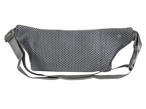CloSoul Direct Damen Herren Hüfttasche Multi-Function Gürteltasche Bauchtasche mit kopfhörerloch einfach Blau