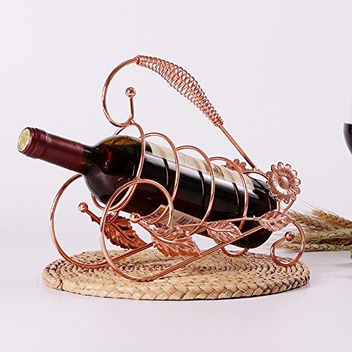 Kreative Inneneinrichtungsgegenstände Wein Rack Kabinett Dekor Dekoration Handwerk Europäischen Weinflasche Flasche Wein Rack Overhead -,Sonnenblumen Rose Vintage-sonnenblume-dekor