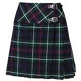 Schottland Kilt Firma Damen Billie Schottenrock 16 Zoll Länge 9 Am Beliebtesten Tartan - Mackenzie, Size 18/38