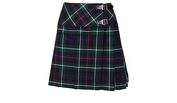 Royal Stewart Mini Rock Billie Kilt mit Gratis Kilt Pin Größen 6-22UK