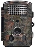 WildKamera FULLLIGHT TECH 12 MP Auflösung 1080P HD mit 2.4' Zoll LCD Bildschirm 120° Breite Vision Infrarote 20m Wasserdicht und zur Überwachung und zum Auskundschaften Spiel und Jagd Trail Nachtsicht Kamera