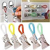 5 clips para colgar toallas de cocina, clips para paños de cocina, clips para colgar ropa, para el hogar, cocina, baño